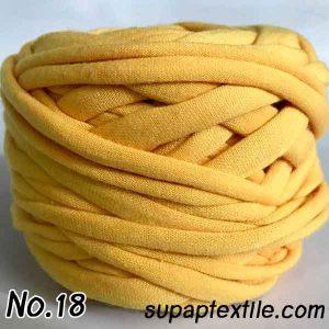 รีวิวไหมพรมผ้า (T-shirt yarn) พร้อมแพทเทิร์น