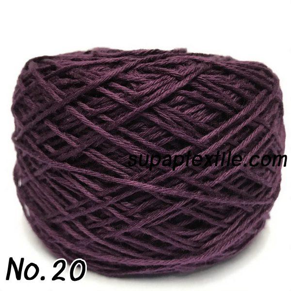 ไหมพรมคอตตอนซอฟท์ เส้นใยธรรมชาติ 100% (Organic Yarn